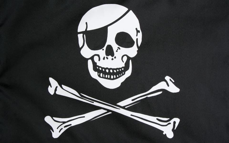 Parche en el ojo de los piratas