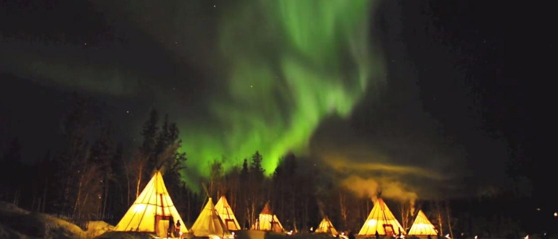 aurora-boreal-Yellowknife-canada