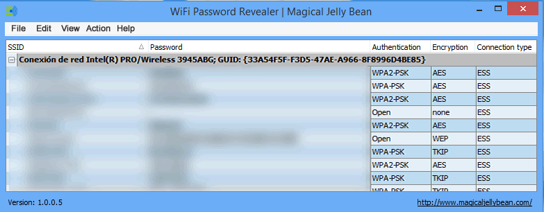 WiFI-Password-Revealer