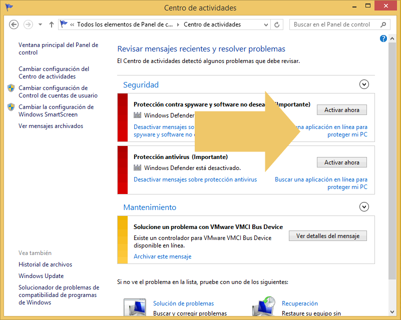como desactivar windows defender en windows 10 home single language