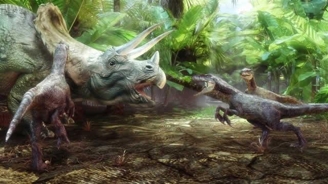 Los-dinosaurios-cazaban-en-manadas