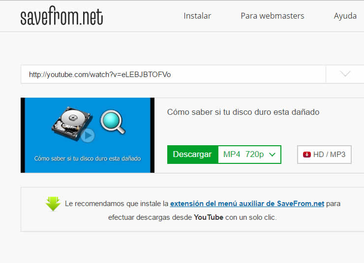 como bajar videos de youtube sin programas